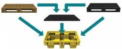 ёмкость для поддона с решеткой SJ-2E-COYE-PLAT