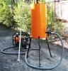 Вакуумная установка УВМ-1. Исполнение вакуумной емкости на опорах