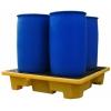 Поддон - контейнер 250 л на 4 бочки для ЛРТЖ, штабелируемый